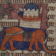 Here are ten interesting notes about medieval elephants