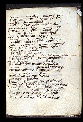 Text page with Latin and Old English glosses.