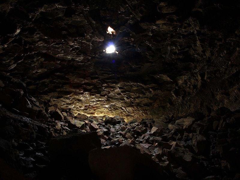 Surtshellir, the longest lava cave in Iceland