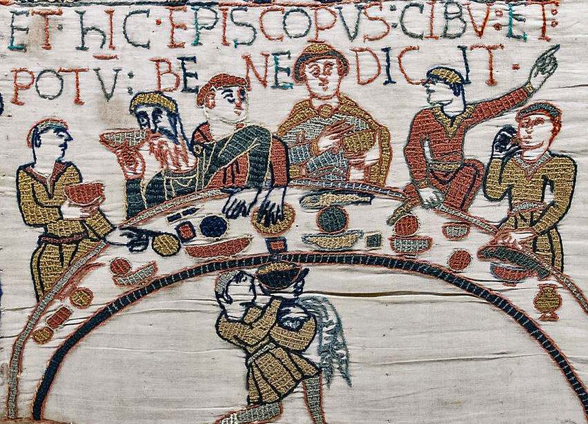 A Feast for the Eyes: Representing Odo at the Banquet in the Bayeux Embroidery
