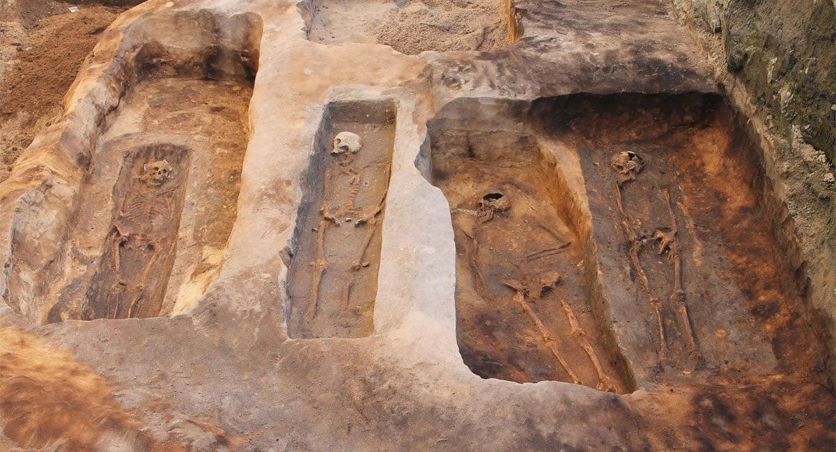 Viking age burial - Ribe, Denmark