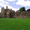 The remains of a medieval church, which was once part of Rufford Abbey in Northamptonshire, England, have been uncovered after a two-week dig.