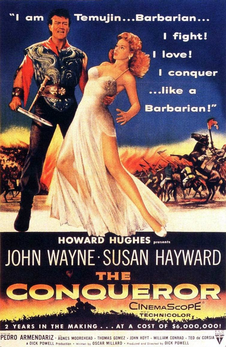 One of the worst movies ever made: The Conqueror (1956)