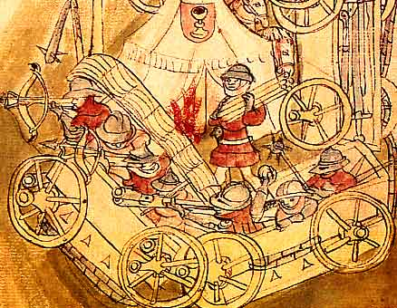 Hussite War Wagon - Wagenburg