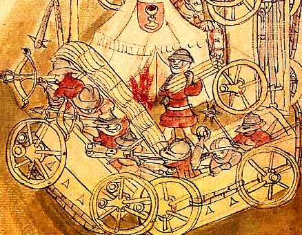 Hussite War Wagon - Wagenburg