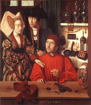 1449 - Medieval Workshop - by Petrus Christus
