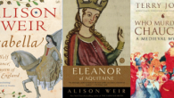 Here are just a few of the non-fiction books I've read and enjoyed. They reflect my interest in the UK and France (especially the fourteenth century), as you'll see.