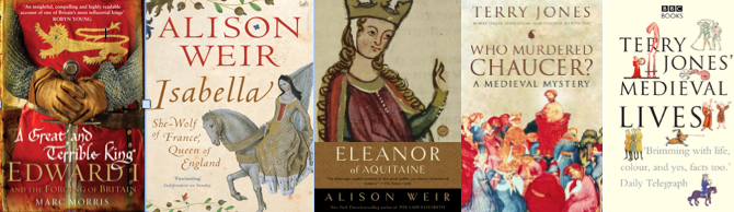 5 medieval books