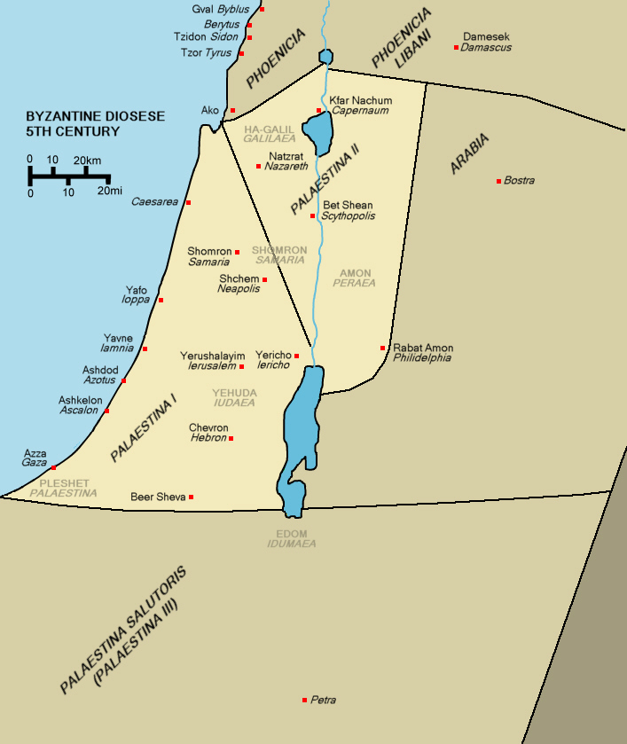 The Muslim Conquest of Byzantine Palestina – Monstrous Invasion or Peaceful Occupation?