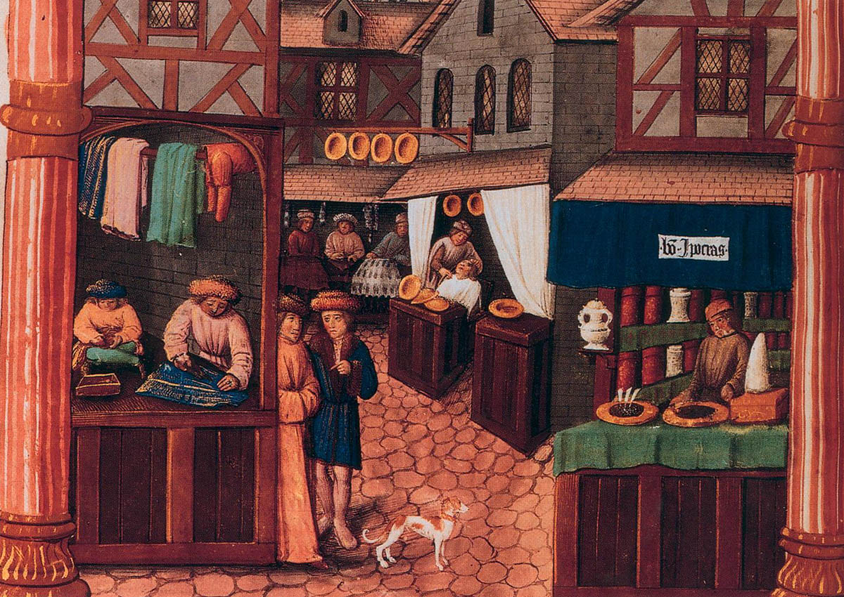 Medieval shops