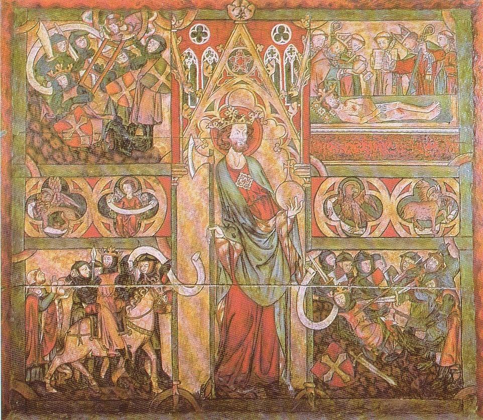 """Viking"" Pilgrimage to the Holy Land fram! fram! cristmenn, crossmenn, konungsmenn! (Oláfs saga helga, ch. 224.)"