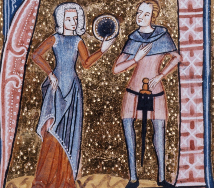 Young Man and Woman - British Library