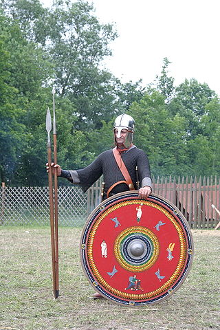 Roman Legion soldier end of 3rd century - northern province