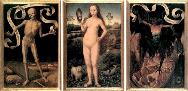 Vanity and Salvation Hans Memling 1433 - 1494