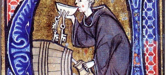 The modern image of the medieval monk, as often depicted in Robin Hood's Friar Tuck, is of the overweight man who indulges in food. How accurate is this stereotype?