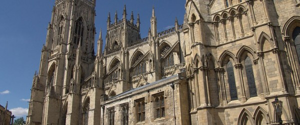 Can you figure out which English Cathedral this is, just based on the picture?