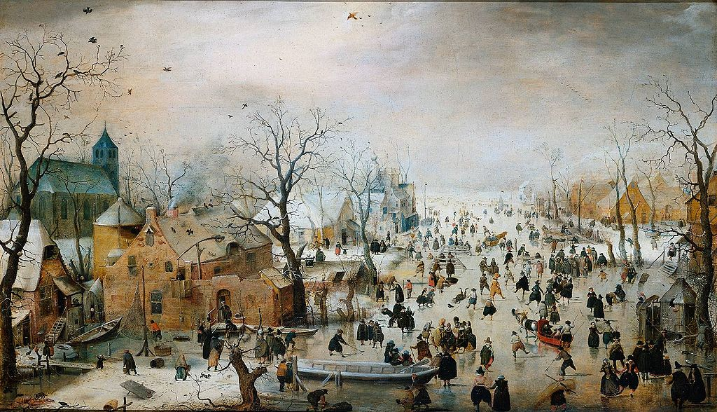 Winter landscape (1608) Hendrick Avercamp