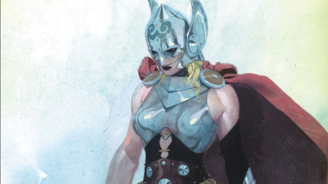 female thor - Marvel comics