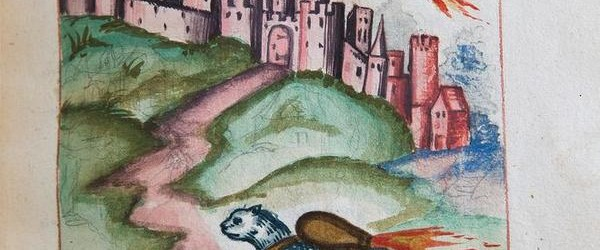 We're back with another round-up of beautiful medieval manuscript images we found this week on the Twitterverse, including images of Stonehenge and the Trojan Horse