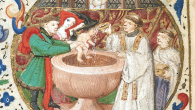 There are medieval European varieties of guardianship that is closely connected to feudal forms of power relations. In English feudal society, where inheritance practice was largely dominated by the principles of primogeniture, the oldest male heir of a deceased father would become the ward of the feudal guardian.