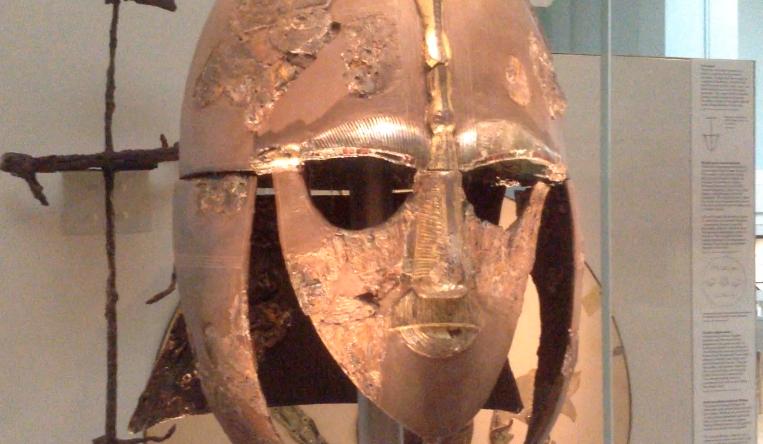 Sutton Hoo helmet at the British Museum
