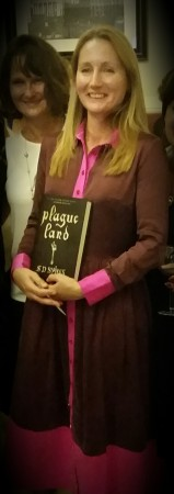 SD Sykes at the Plague Land launch