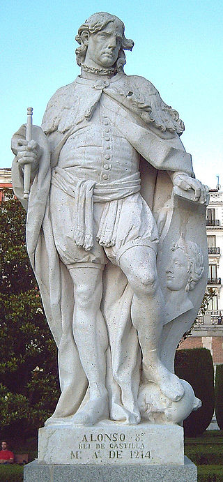 King Alfonso VIII 'the Noble' of Castile