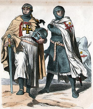 Livonian Sword Brothers - 19th century image