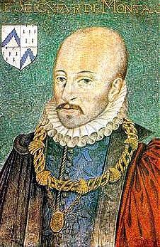 Portrait of Michel de Montaigne by Dumonstier around 1578