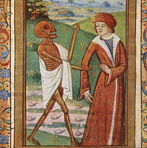 Znalezione obrazy dla zapytania: death medieval