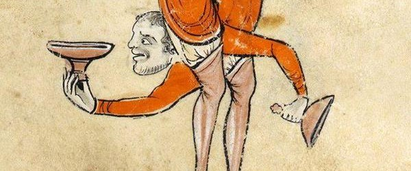 Wild women, big fish and scary faces are among the nearly 40 medieval manuscript images collected from Twitter in the last week.
