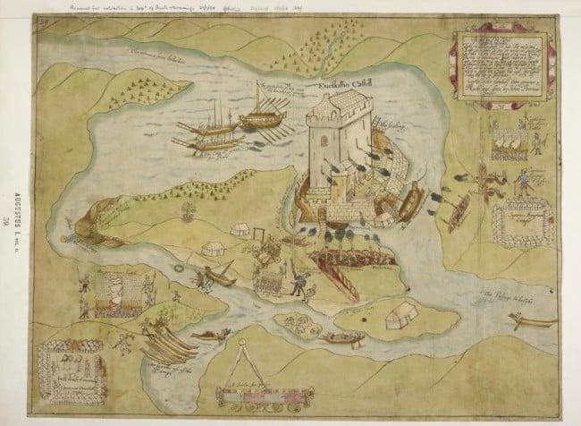 John Thomas siege of Enniskillen Castle