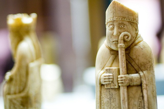 Humour in the Game of Kings: The Sideways Glancing Warder of the Lewis Chessmen