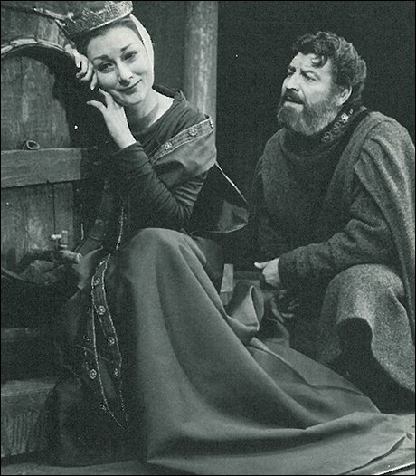 An actress' approach to the role of Eleanor of Aquitaine in The Lion In Winter by James Goldman