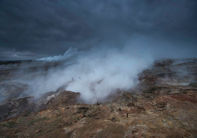 haunted iceland - Gunnuhver' - Reykjanes Peninsula, Iceland Photo by Kris Williams / Flikr