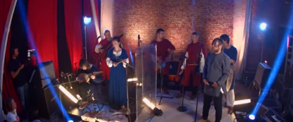 The medieval folk band Stary Olsa has made an impressive cover of the Metallica song 'One'.