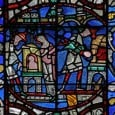 During the middle ages, one of the most popular and most frequently illustrated Miracles of the Virgin Mary was the Miracle of the Jew of Bourges. According to the text of the miracle, the Virgin saves a young Jewish boy after his father throws him into a fiery oven upon learning he attended a Christian mass.