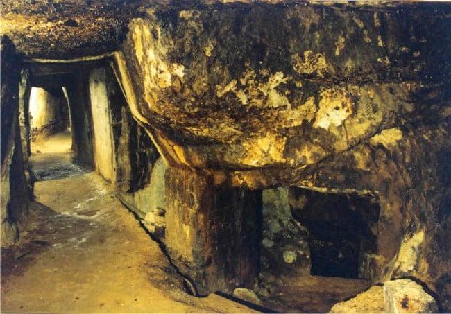 Roman gold mine