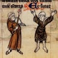 In 1482, Catharina Arndes lifted up her skirts in front of the archbishop's chaplain. She was a respectable townswoman from Hamburg, and her action was carried out in defense of the Cistercian monastery of Harvestehude which was close to the city and where several of Catharina's nieces lived as nuns.
