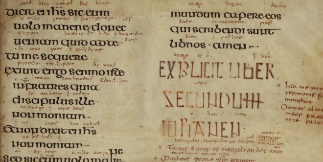 Domiciling the Evangelists in Anglo-Saxon England: a Fresh Reading of Aldred's colophon in the Lindisfarne Gospels