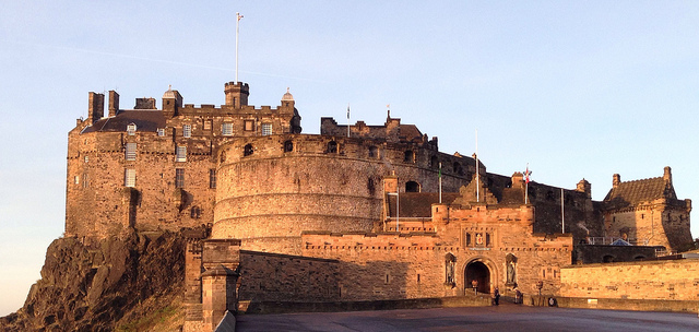 Edinburgh Castle - photo by Keith/Flickr