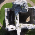 The growing popularity of unmanned aerial vehicles, such as quadcopters, is leading to some spectacular videos of medieval sites.