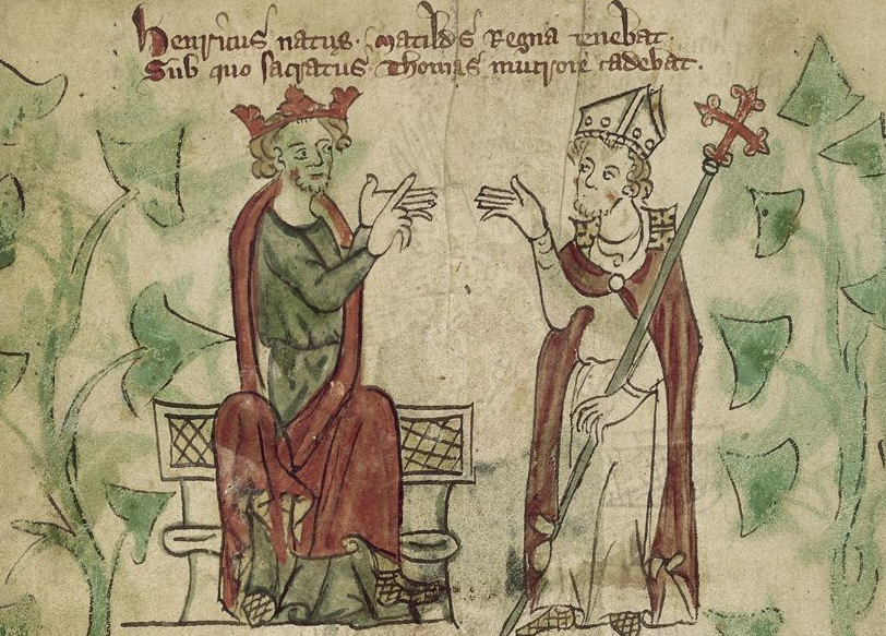 the lion s roar anger in the dispute between henry ii and thomas  the lion s roar anger in the dispute between henry ii and thomas becket medievalists net