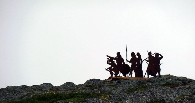 Vikings in Newfoundland - photo by Douglas Sprott / Flickr