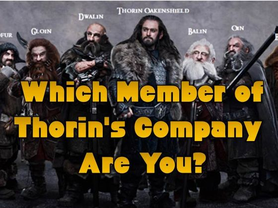 The Hobbit: Which Member of Thorin's Company Are You?
