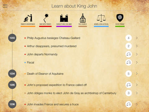 King John gets his own App!