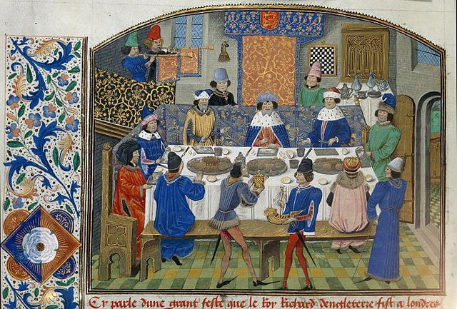 taste of medieval food