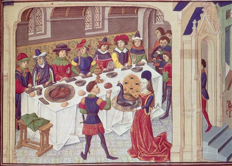Medieval Food What Did They Eat