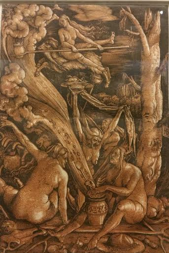 Hans Baldung - The Witches Sabbath (1510 AD)