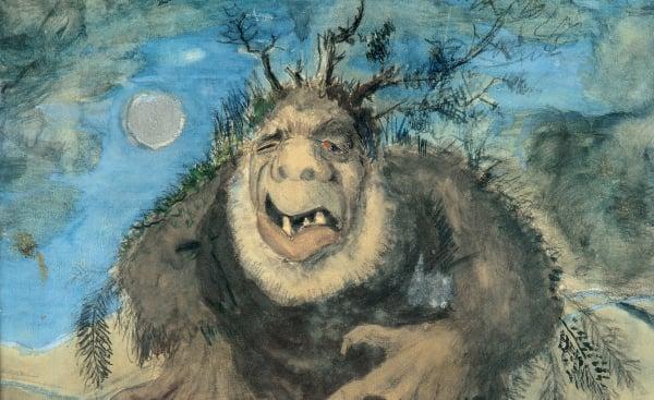 Troll by Norwegian artist Theodor Kittelsen